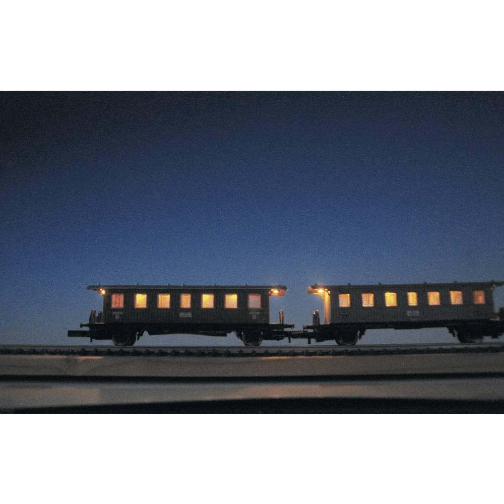Notranja osvetlitev za vagon Mayerhofer Modellbau, Z, 45 mm, 5 LED, brez brlenja, 71872