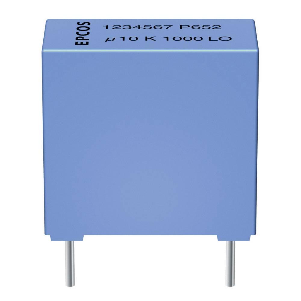 MKP-folijski kondenzator, radijalno ožičen 0.22 µF 400 V/DC 5 % 15 mm (D x Š x V) 18 x 7 x 12.5 mm Epcos B32652-A4224-J 1
