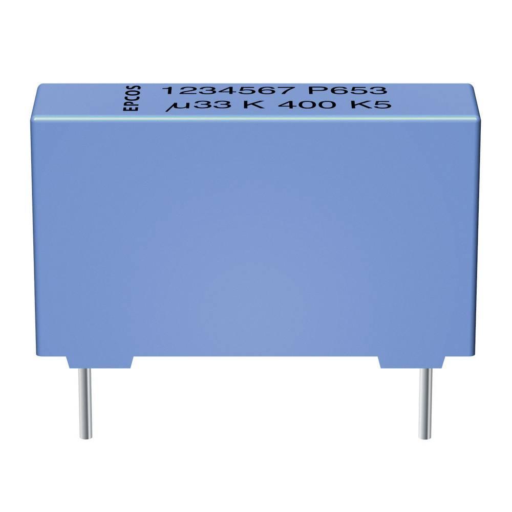 MKP folijski kondenzator, radialno ožičen 0.22 µF 1000 V/DC 5 % 27.5 mm (D x Š x V) 31.5 x 11 x 21 mm Epcos B32654-A224-J