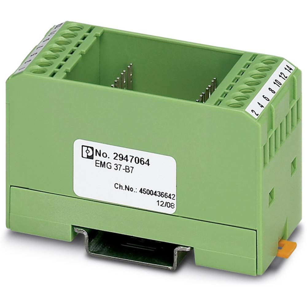 DIN-skinnekabinet Phoenix Contact EMG 37-B7 Plast 5 stk