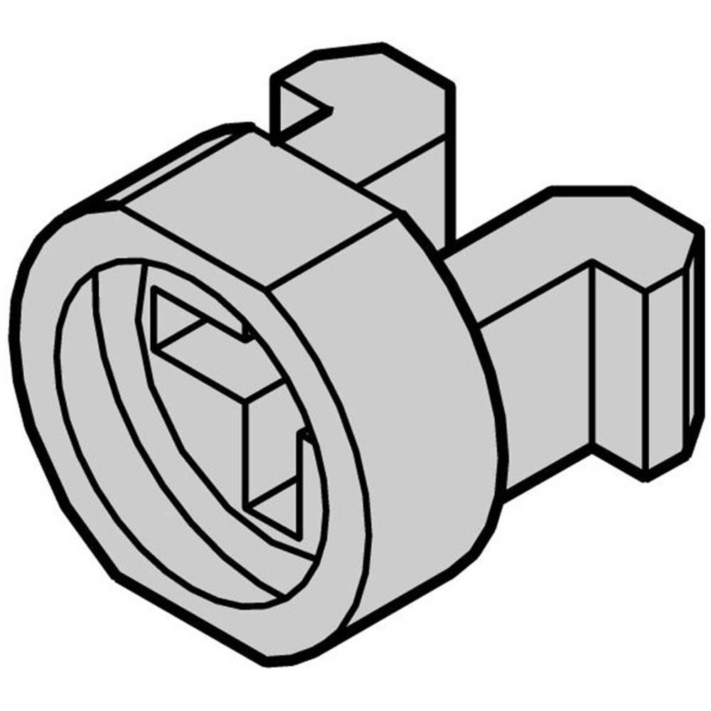 Schroff-Montažni prilagodnik za vijke 21100-464, poliamid, siv