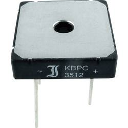 Mostični usmernik TRU Components TC-KBPC10/15/2506WP KBPC 600 V 25 A enofazni
