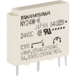 Printrelais (value.1292897) 24 V/DC 5 A 1 Schließer (value.1345270) Takamisawa NY-24W-K-IE 1 stk
