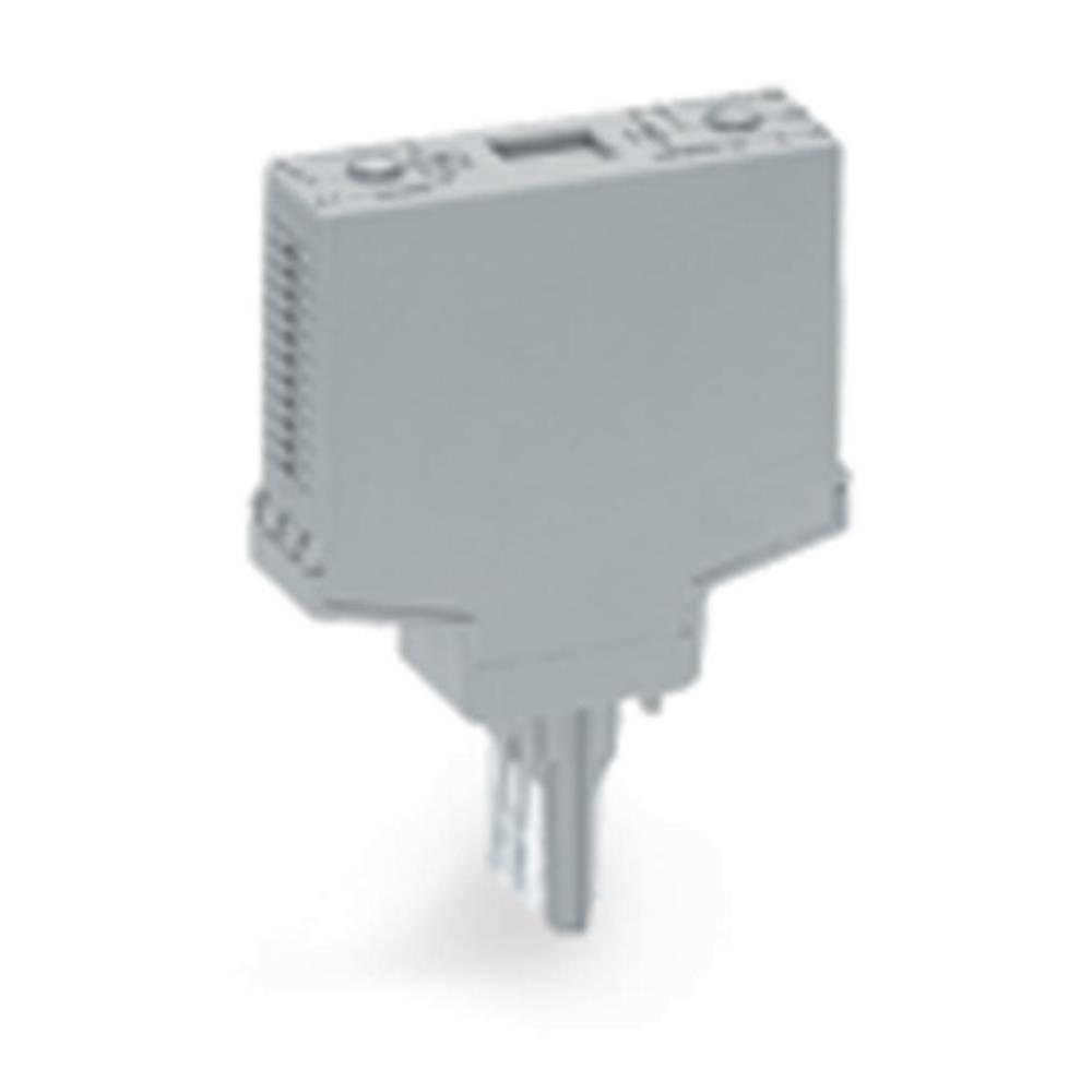Indstiksmodul uden udstyr 1 stk WAGO 286-111 Passer til serie: Wago serie 280 Passer til model: Wago 280-619, Wago 280-609