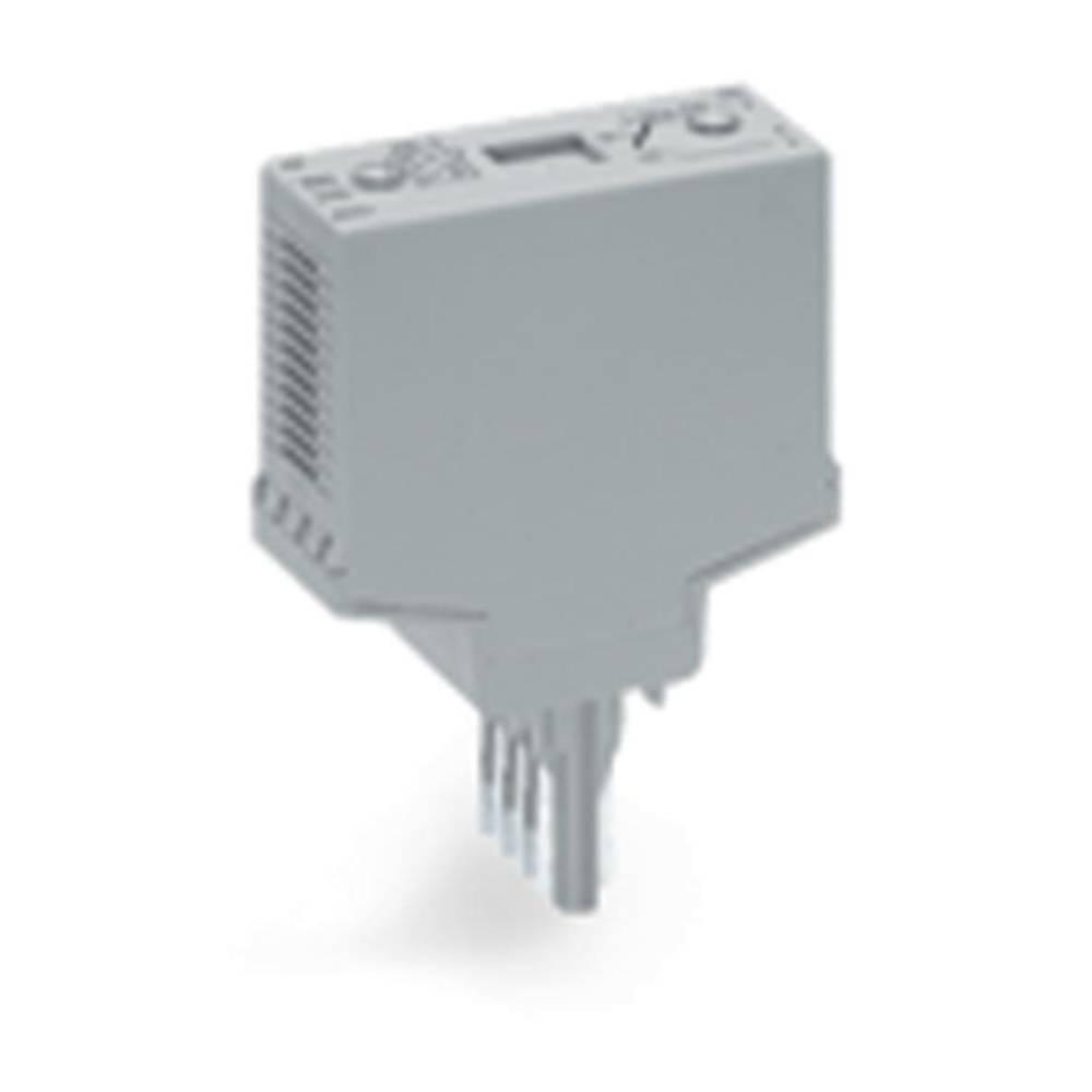 Steckmodul (value.1292944) uden udstyr 1 stk WAGO 286-112 Passer til serie: Wago serie 280 Passer til model: Wago 280-638, Wago
