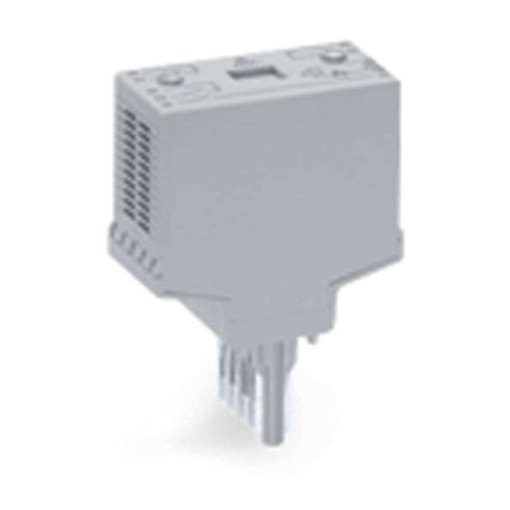 Steckmodul (value.1292944) uden udstyr 1 stk WAGO 286-113 Passer til serie: Wago serie 280 Passer til model: Wago 280-629, Wago