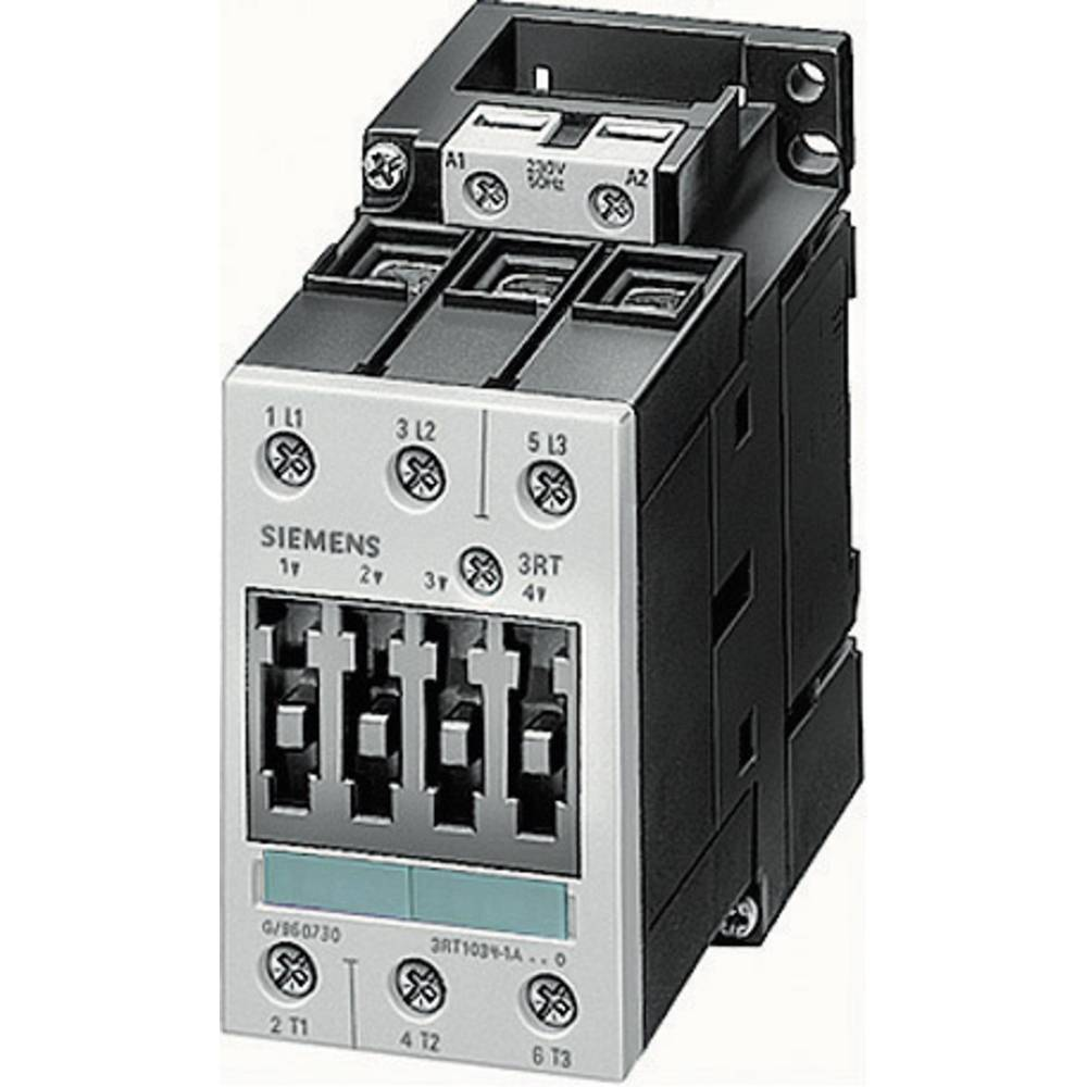Kontaktor 1 kos 3RT1017-1AP01 Siemens 3 zapiralni 5.5 kW 230 V/AC 12 A s pomožnim kontaktom