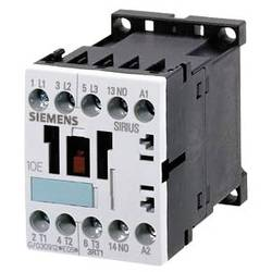 Kontaktor 1 st 3RT1015-1AP01 Siemens 3 NO 3 kW 230 V/AC 7 A med hjälpkontakt
