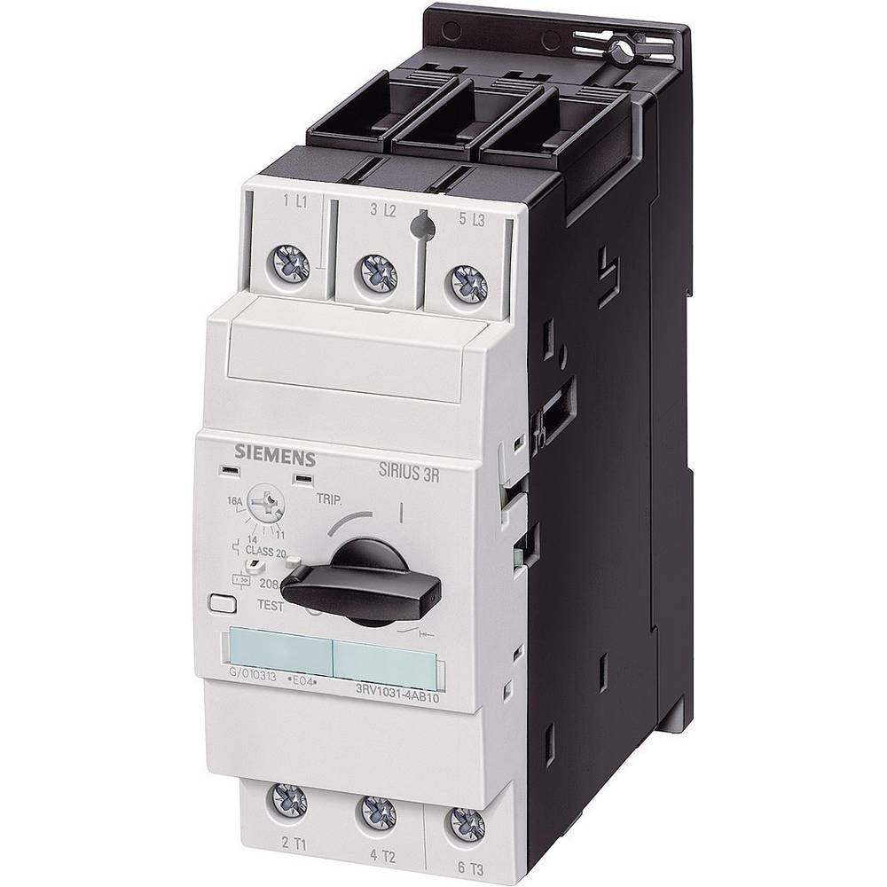 Snažan prekidač 1 kom. Siemens 3RV1031-4EA10 3 zatvarač, postavljanje (struja): 22 - 32 A preklopni napon (maks.): 690 V/AC (Š x