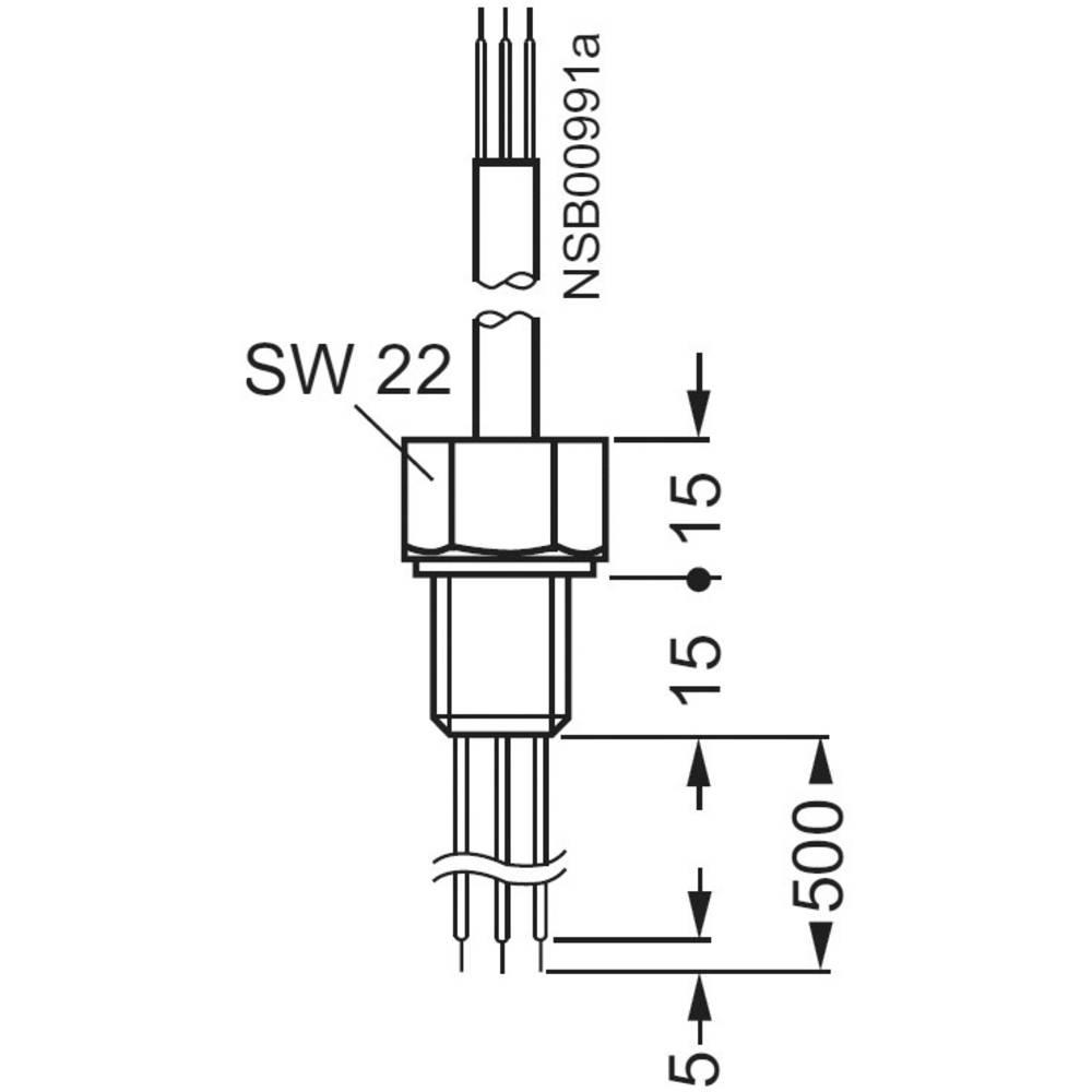 Senzor za Siemens 3UG3207-3A, žična elektroda 500 mm, 3-polna (3x0,5 mm/2 m)