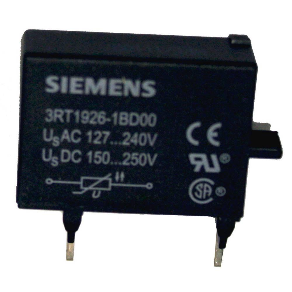 Varistor za kontaktor 1 kos 3RT1926-1BD00 Siemens primeren za serijo: Siemens Bauform S0, S2, S3
