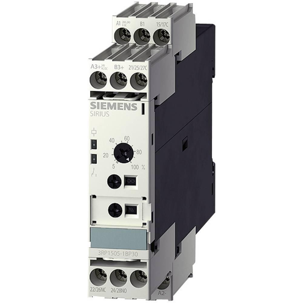 Časovni rele, večfunkcijski 1 kos Siemens 3RP1505-1AP30 časovni razpon: 0.05 s - 100 h 1 preklopni kontakt