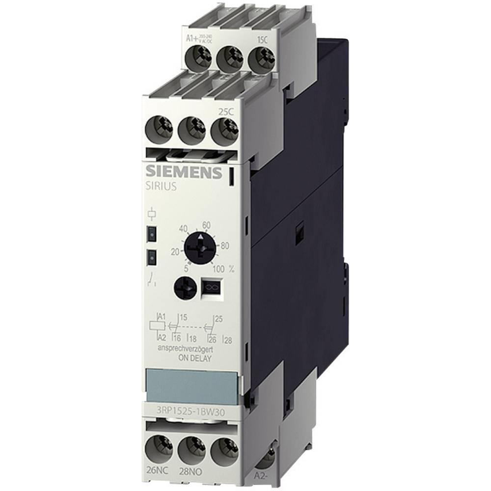 Vremenski relej, višenamjenski 1 kom. Siemens 3RP1525-1AP30 vremenski raspon: 0.05 s - 100 h 1 preklopni kontakt