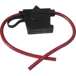 Držalo varovalnake s kazalnikom stanja, primerno za ploščate varovalnake Standard 30 A 24 V/DC TRU Components TC-R3-59A 1 kos