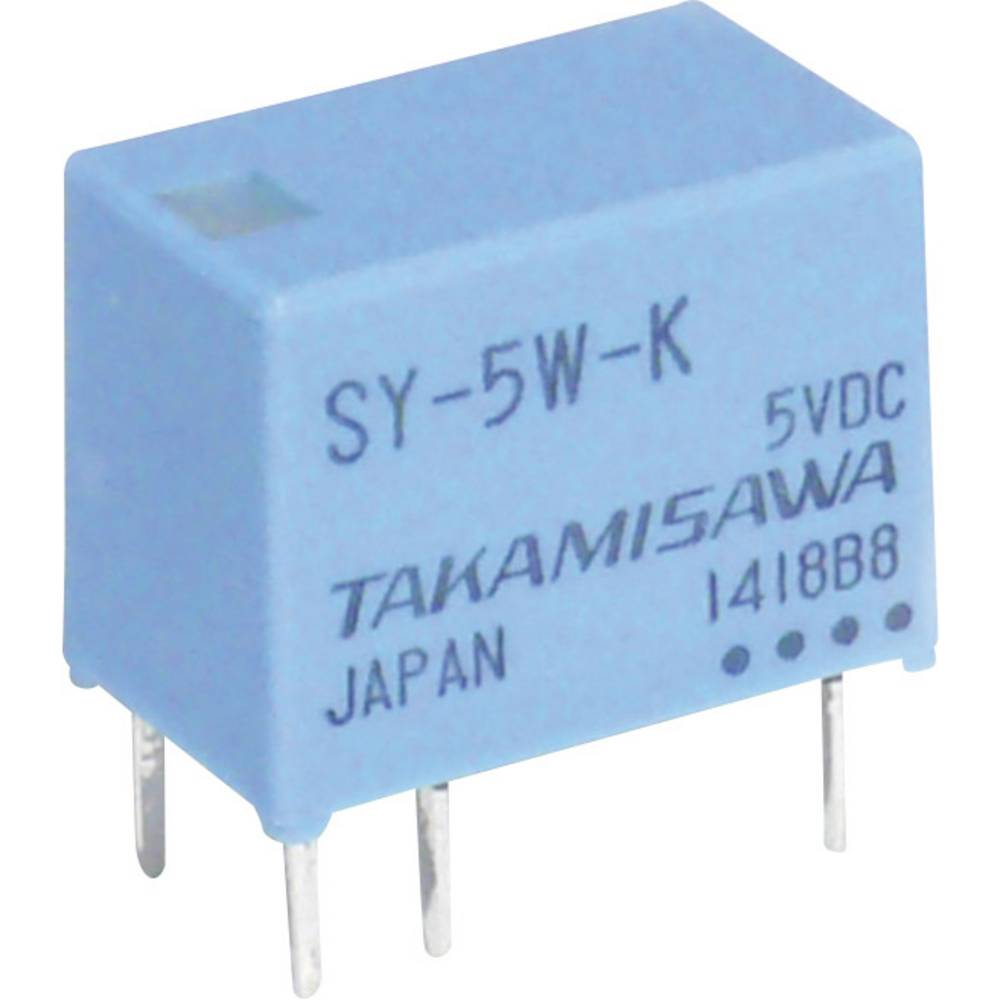 Printrelais (value.1292897) 24 V/DC 1 A 1 Wechsler (value.1345271) Takamisawa SY-24W-K 1 stk