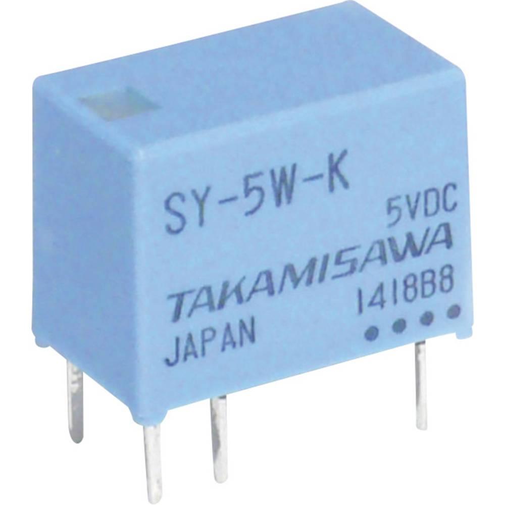 Printrelais (value.1292897) 12 V/DC 1 A 1 Wechsler (value.1345271) Takamisawa SY-12W-K 1 stk