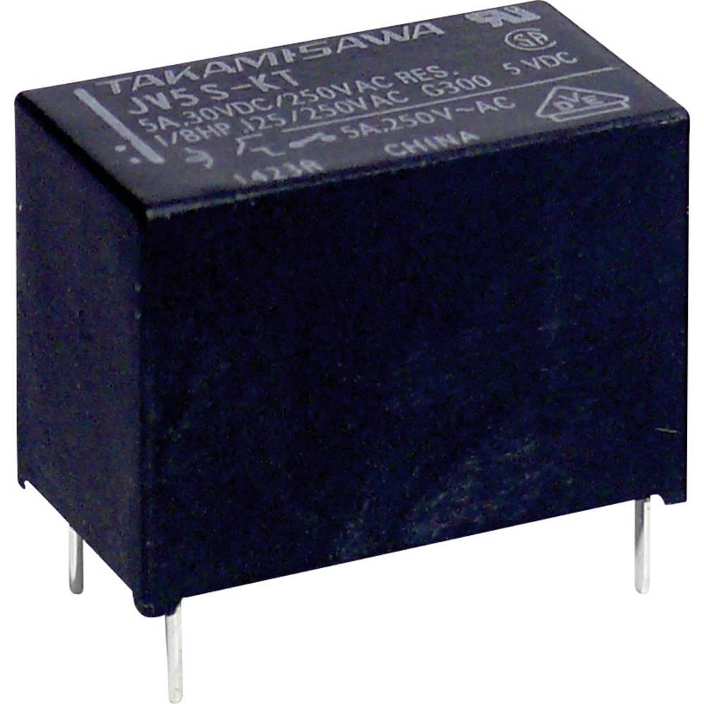 Takamisawa JV-05S-KT PCB Mount Relay 5Vdc 1 NO, SPST-NO