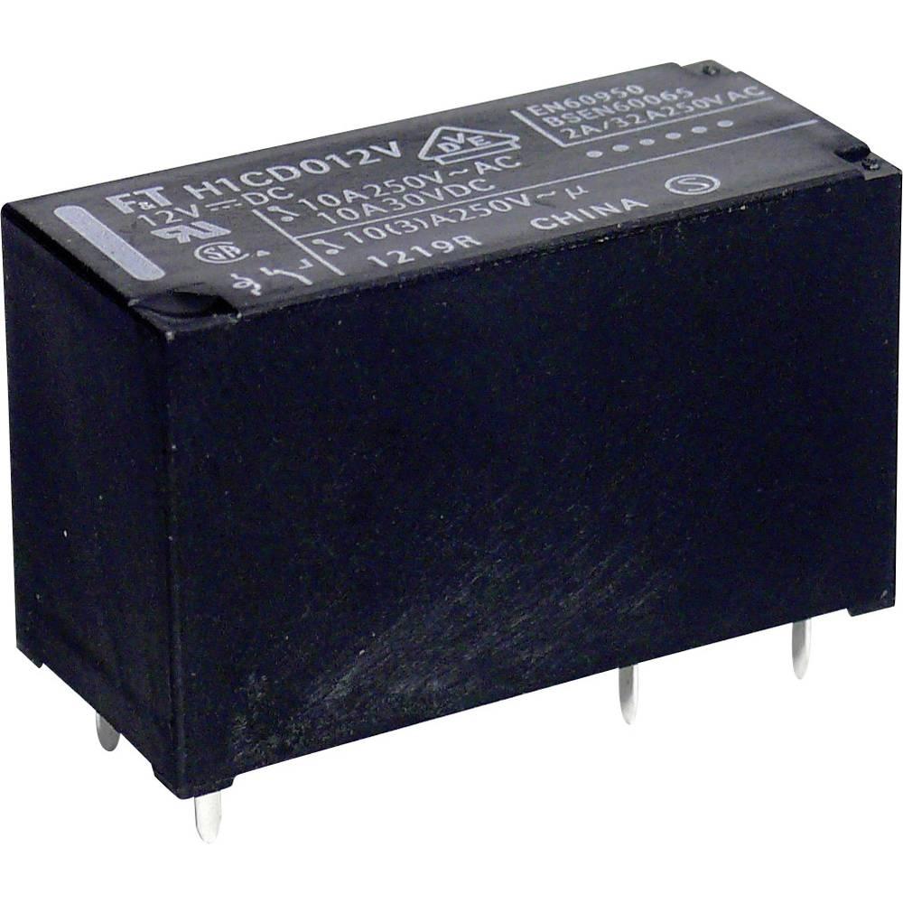 Printrelais (value.1292897) 12 V/DC 10 A 1 Wechsler (value.1345271) Takamisawa FTR-H1 CD 012 1 stk
