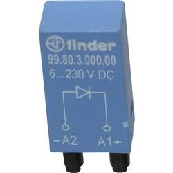 Steckmodul (value.1292944) Med friløbsdiode, Uden LED 1 stk Finder 99.80.3.000.00 Passer til serie: Finder serie 94, Finder seri