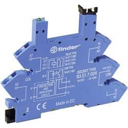 Podnožje serije 34 - spojka ssteznom opugom 6-24VDC Finder 93.51.7.024