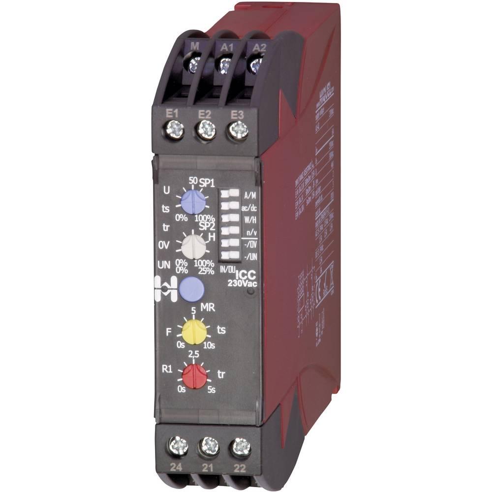 Überwachungsrelais (value.1445132) 2 Wechsler (value.1345274) 1 stk Hiquel ICC 230Vac 1-fase, Strøm