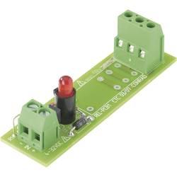 Tiskano vezje za rele, neopremljeno, 1 kos TRU COMPONENTS REL-PCB1 0 1 preklopni 5 V/DC, 12 V/DC, 24 V/DC