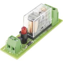 Relejno tiskano vezje, opremljena 1 kos TRU Components REL-PCB1 2 1 menjalni 24 V/DC
