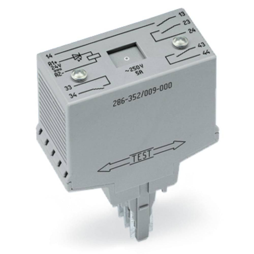 Steckrelais (value.1292892) 24 V/DC 4 Schließer (value.1345276) WAGO 286-352/004-000 1 stk