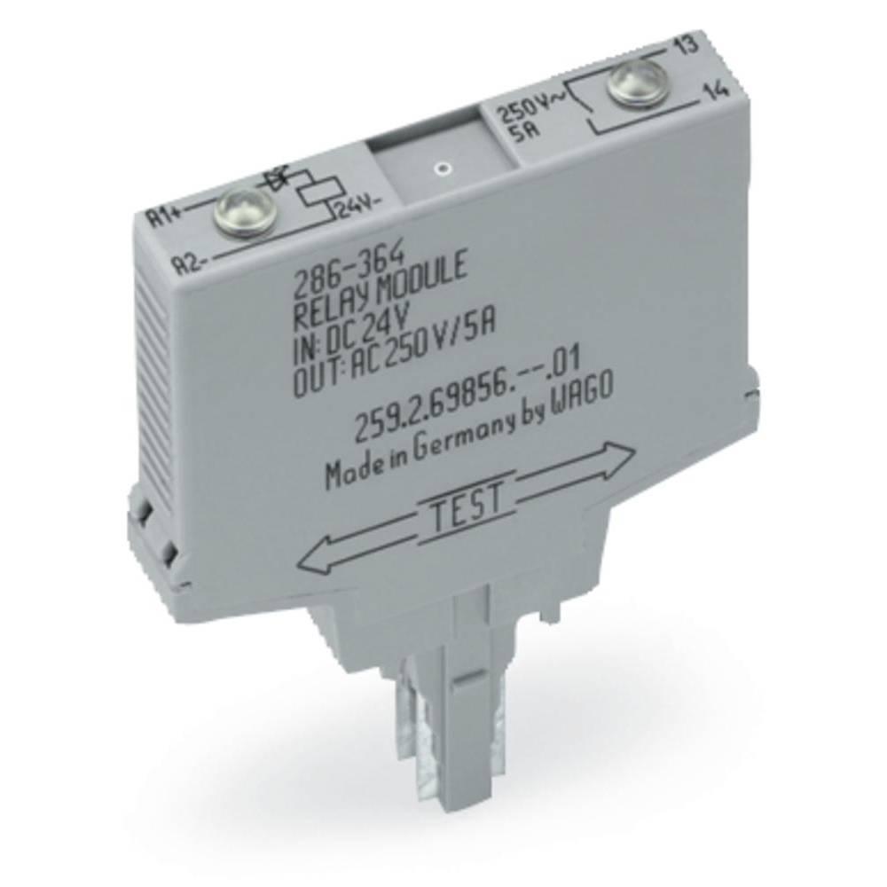 Vtični releji 230 V/AC 5 A zapiralni WAGO 286-567 1 kos