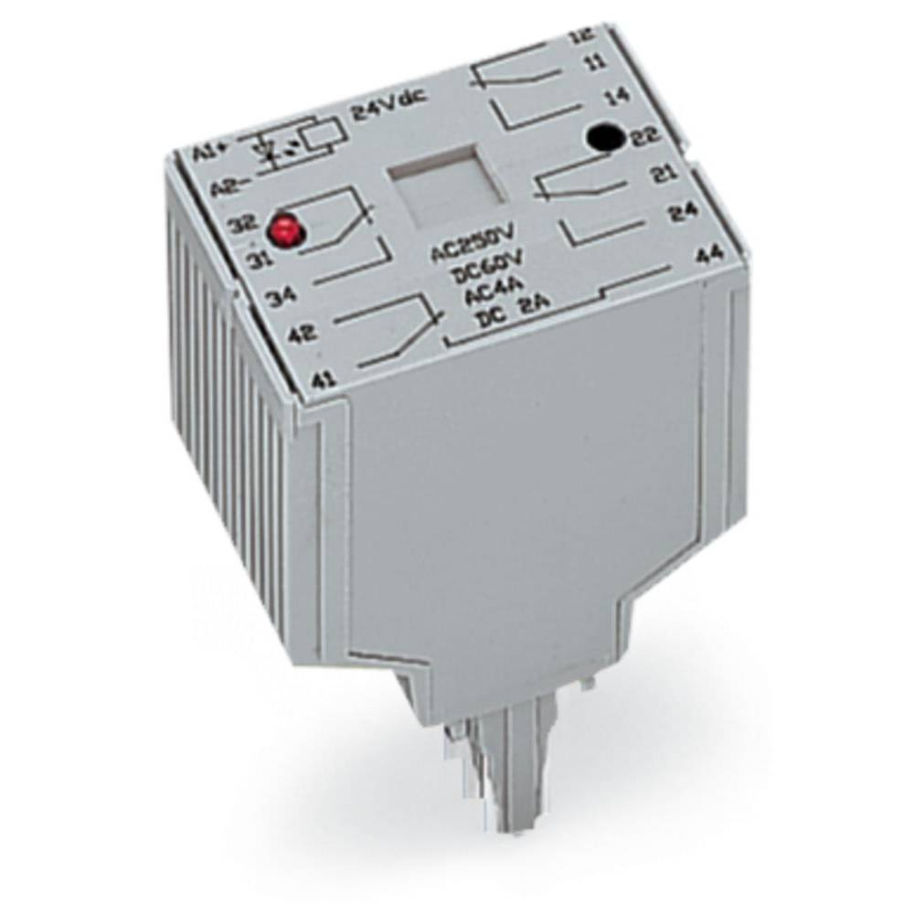 Vtični releji 24 V/DC 250 A 4 x preklopni WAGO 286-375 1 kos