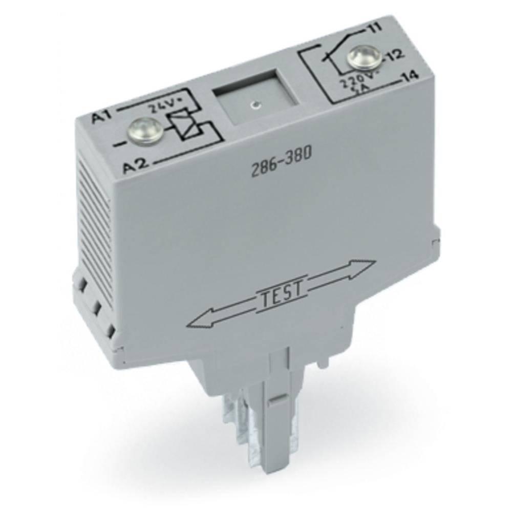 Vtični releji 24 V/AC 6 A 1 x preklopni WAGO 286-381 1 kos