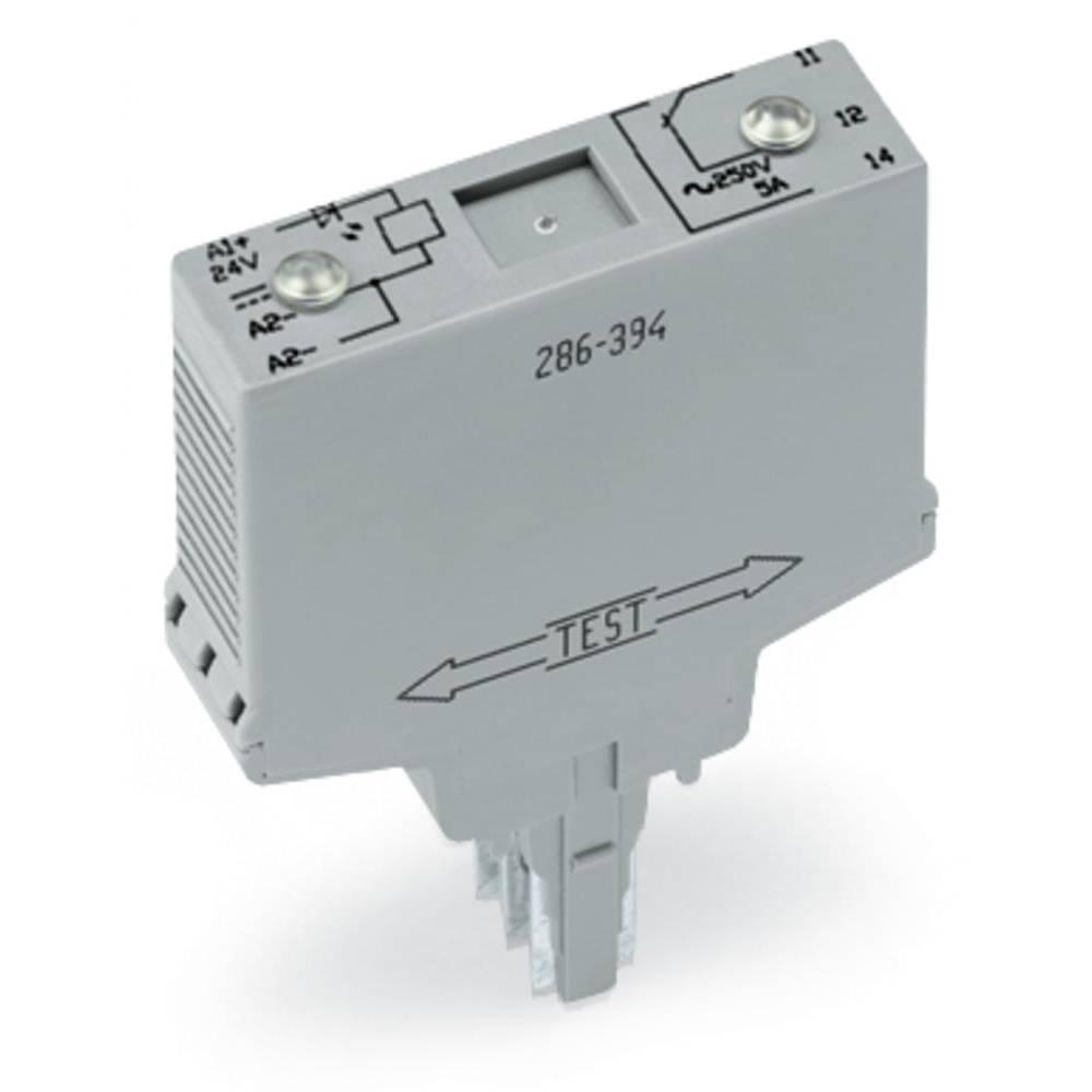 Vtični releji 24 V/DC 1 x preklopni WAGO 286-394/004-000 1 kos
