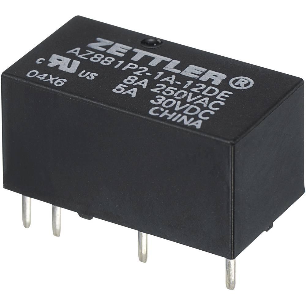 Vrlo mali snažan relej AZ881, monostabilan, 5 A Zettler Electronics AZ881-2A-6DEA 6