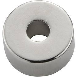Stalni magnet obroč N35M 1.2 T mejna temperatura (maks.): 100 °C N-35 M 13X6