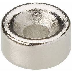 Zmogljivi trajni magnet z notranjim konusom