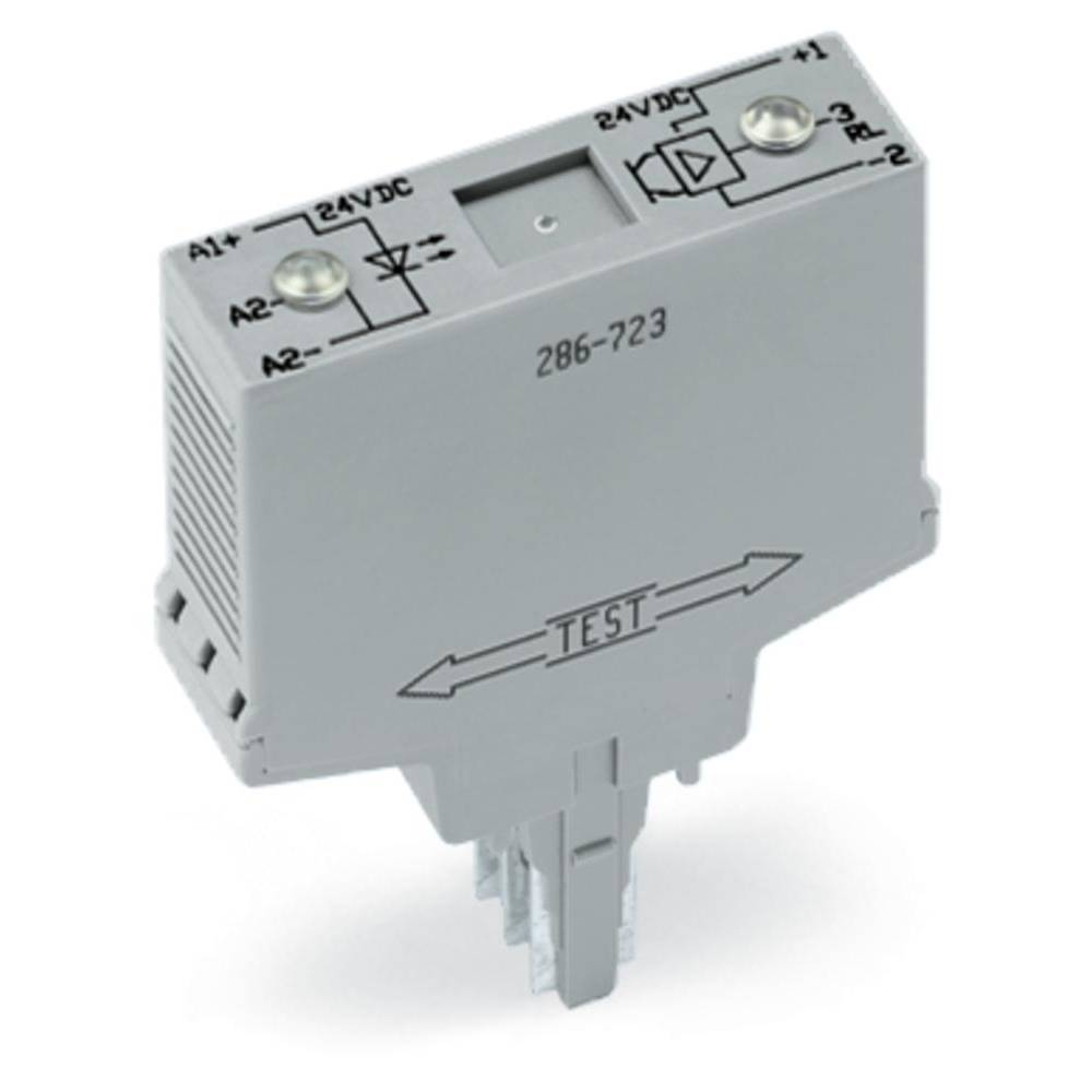 Optokopler rele 1 kos WAGO 286-723 preklopna napetost (maks.): 24 V/DC