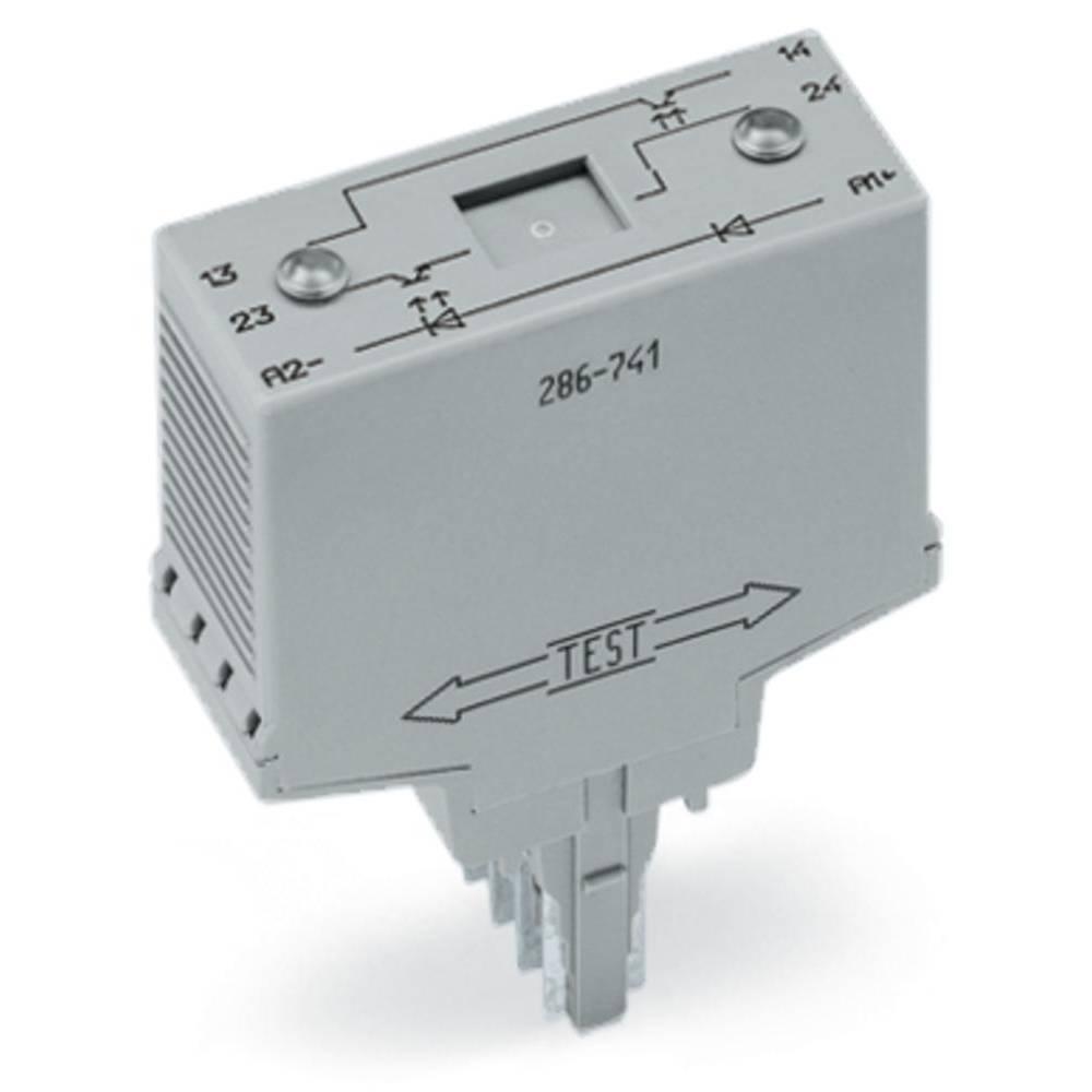 Relaisbaustein (value.1292895) 1 stk WAGO 286-741 Nominel spænding: 15 V/DC, 120 V/DC