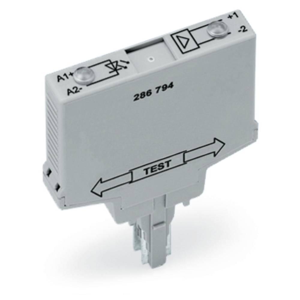Optokopplerrelais (value.1472423) 1 stk WAGO 286-794 Koblingsspænding (max.): 60 V/DC