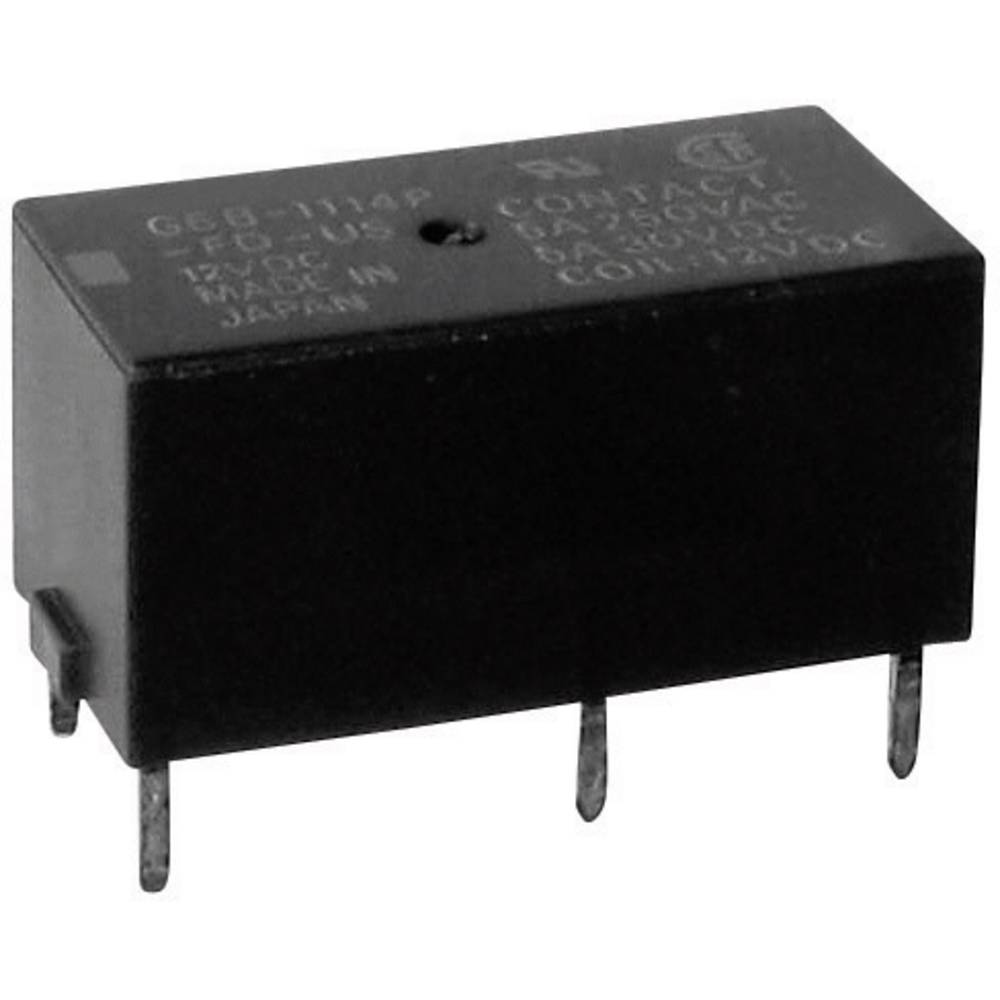 Printrelais (value.1292897) 5 V/DC 5 A 1 Schließer (value.1345270) Omron G6B-1114P-US 5 VDC 1 stk