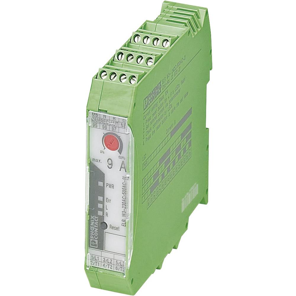 Povratni obremenitveni rele 1 kos ELR W3-24DC/500AC-9I Phoenix Contact bremenski tok: 9 A preklopna napetost (maks.): 550 V/AC