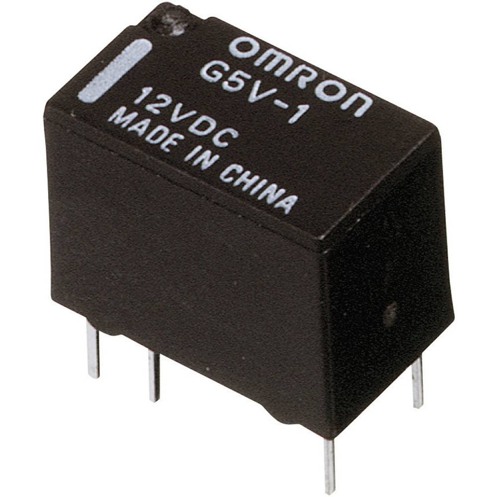 Printrelais (value.1292897) 5 V/DC 1 A 1 Wechsler (value.1345271) Omron G5V-1 5DC 1 stk