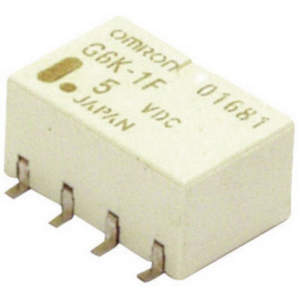 Omron G6K-2F-Y 5DC PCB Mount Signal Relay 5Vdc 2 CO, Monostable