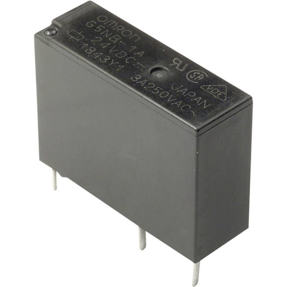 Rele za tiskano vezje 12 V/DC 5 A 1 zapiralni Omron G5NB-1A-E 12DC 1 kos