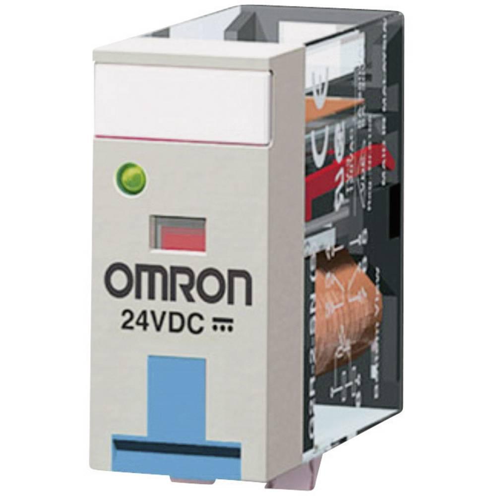 Steckrelais (value.1292892) 24 V/DC 5 A 2 Wechsler (value.1345274) Omron G2R-2-SNDI 24 VDC 1 stk