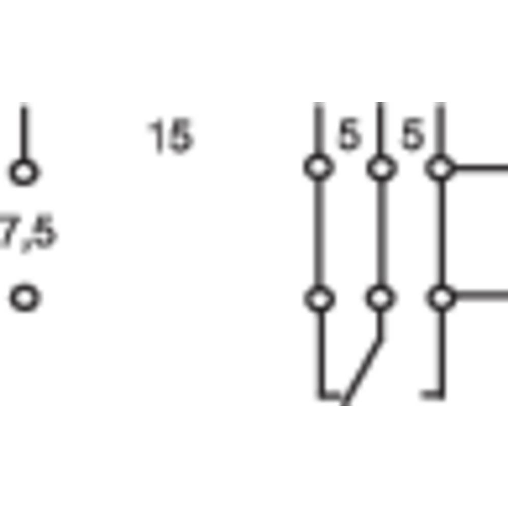 Rele za tiskano vezje 24 V/DC 16 A 1 preklopni Omron G2R-1-E-24V 1 kos