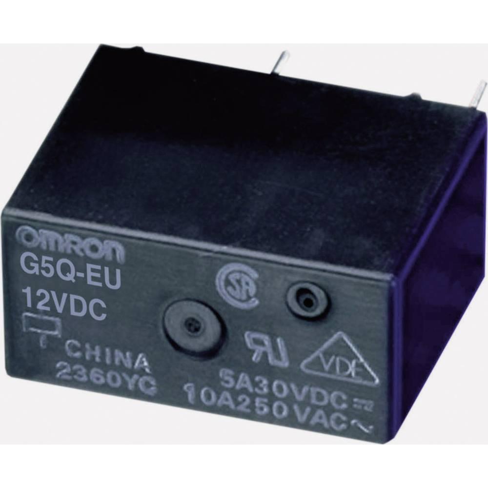 Relej za tiskanu pločicu 5 V/DC 5 A 1 zatvarač Omron G5Q-1A-EU 5DC 1 kom.