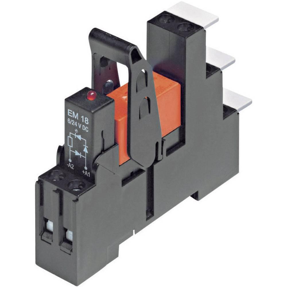 Rele TE Connectivity RT4S4LC4,24 V/DC, 2 x preklopni k., 8A, 250 V/AC/maks. 440 V/AC 1-1415073-1