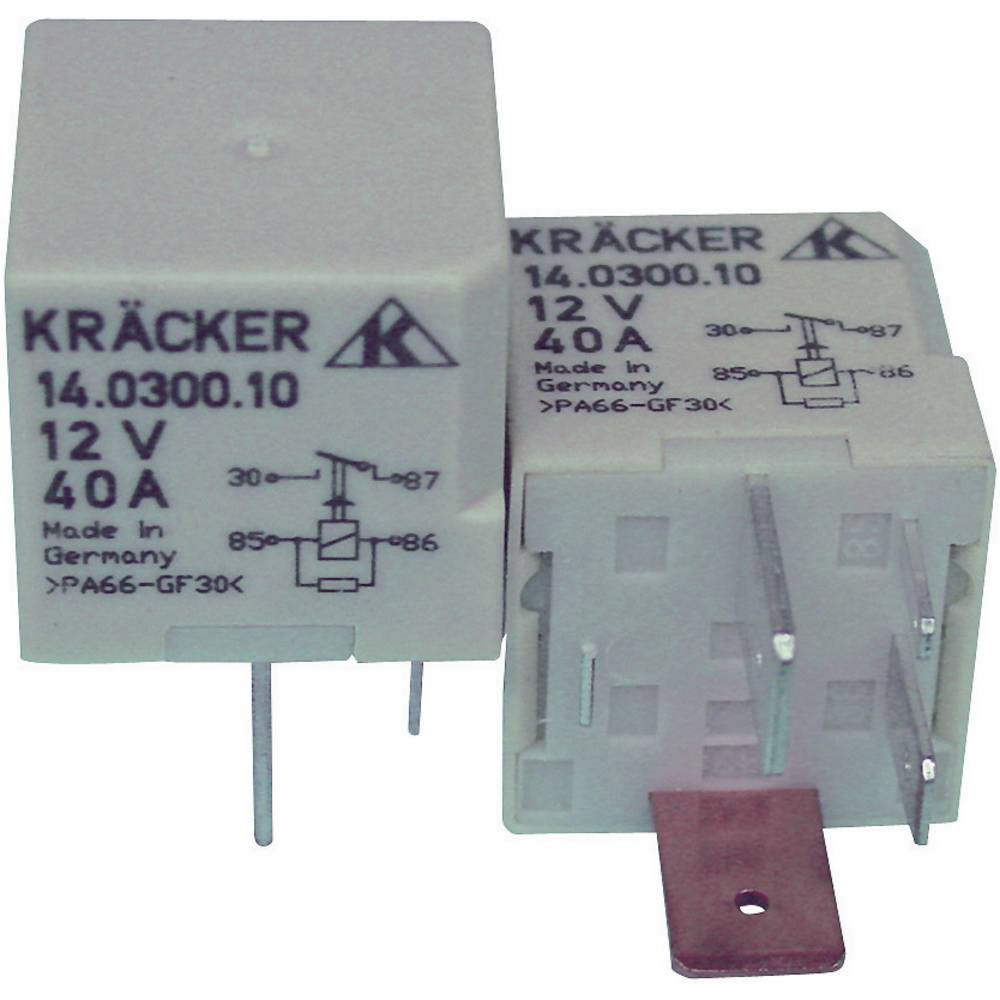 Avtomobilski rele Kräcker prva vgradnja - original 14.0300.10 12 V/DC 1 x EIN 70 A 10 min 60 V/AC / 75 V/DC