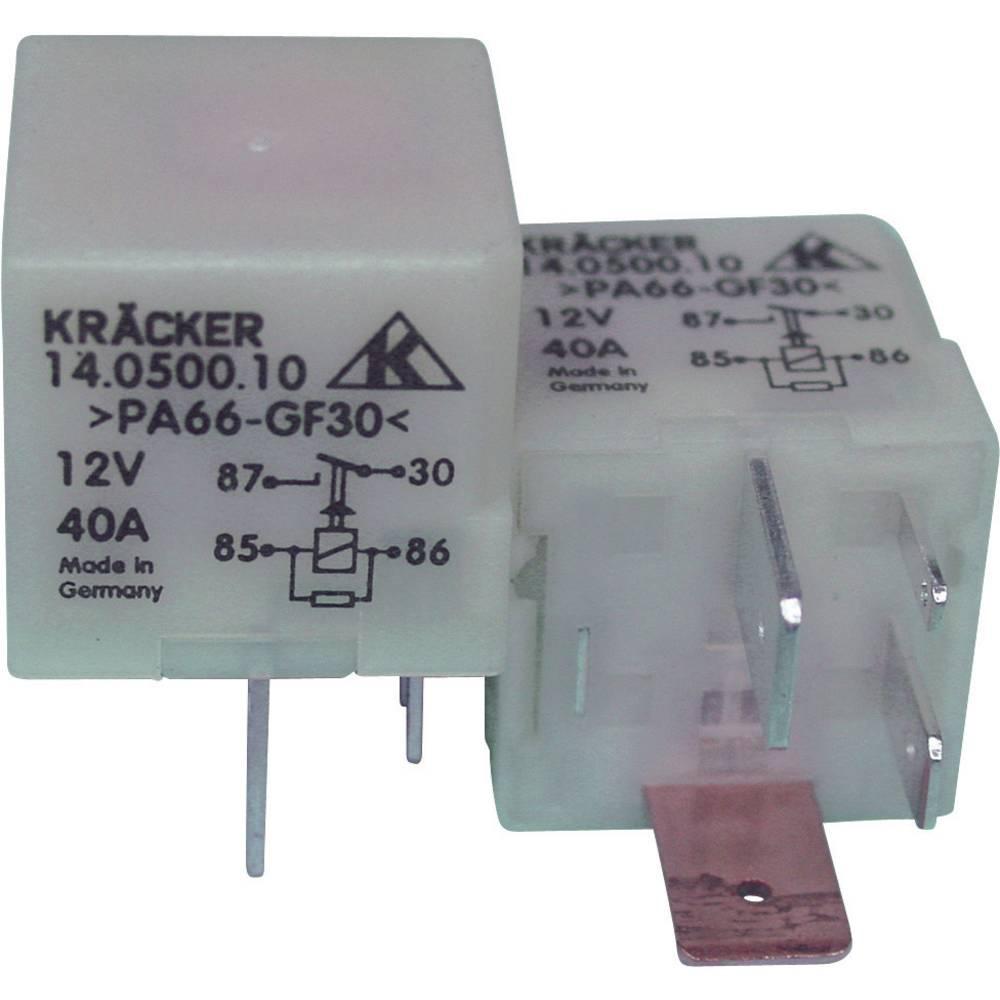 Kfz-Relais (value.1292934) 12 V/DC 15 A 1 Schließer (value.1345270) Kräcker 14.0500.10