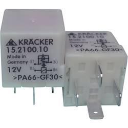 Relej za automobile Kräcker 15.2100.10, 12 V/DC, 1 x radni kontakt, 15 A, 60 V/AC, 75 V/DC